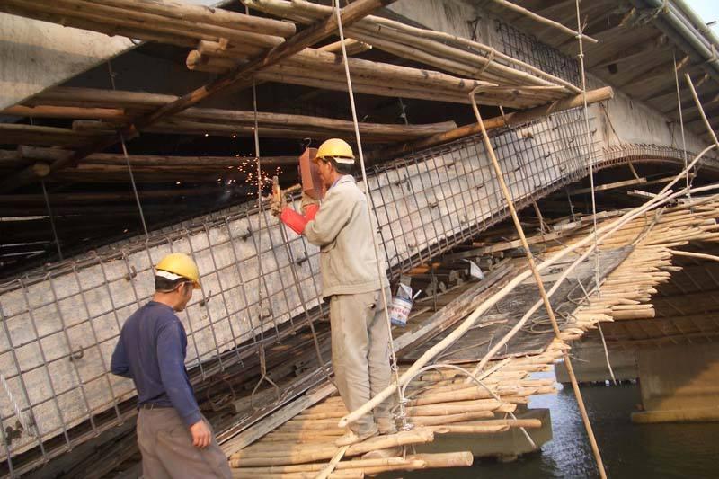 六盤水橋梁加固施工